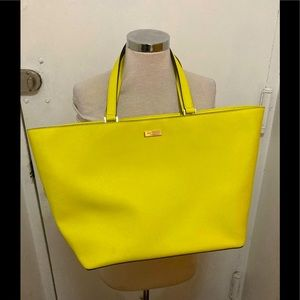 Kate Spade neon Staffiano structured bag